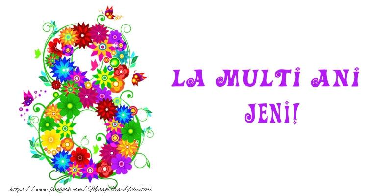 Felicitari 8 Martie Ziua Femeii | La multi ani Jeni! 8 Martie