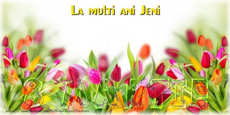 Felicitari 8 Martie Ziua Femeii | La multi ani Jeni