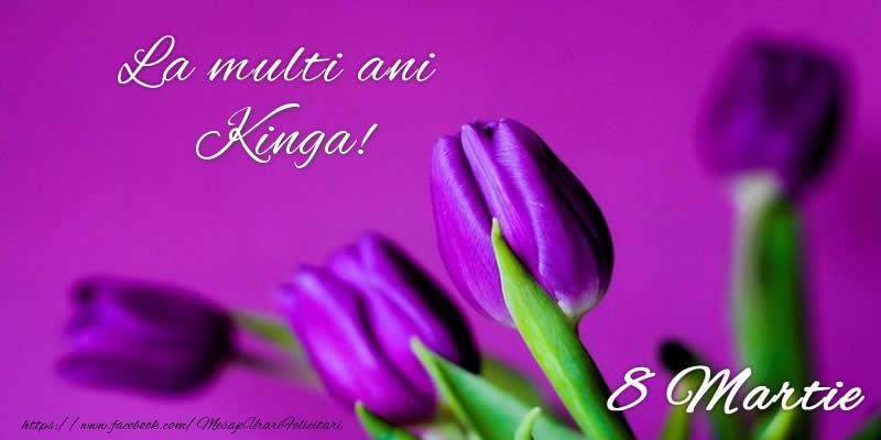 Felicitari 8 Martie Ziua Femeii | La multi ani Kinga! 8 Martie