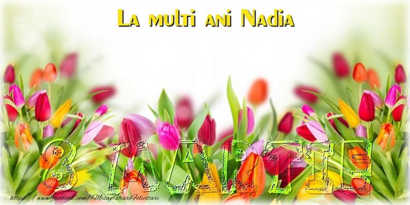 Felicitari 8 Martie Ziua Femeii   La multi ani Nadia