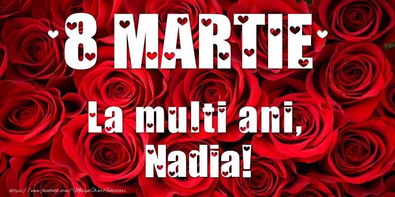 Felicitari 8 Martie Ziua Femeii | 8 Martie La multi ani, Nadia!