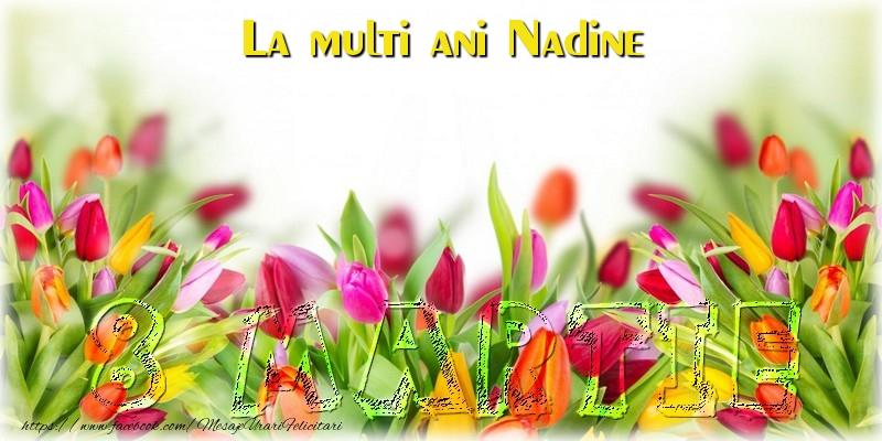 Felicitari 8 Martie Ziua Femeii   La multi ani Nadine