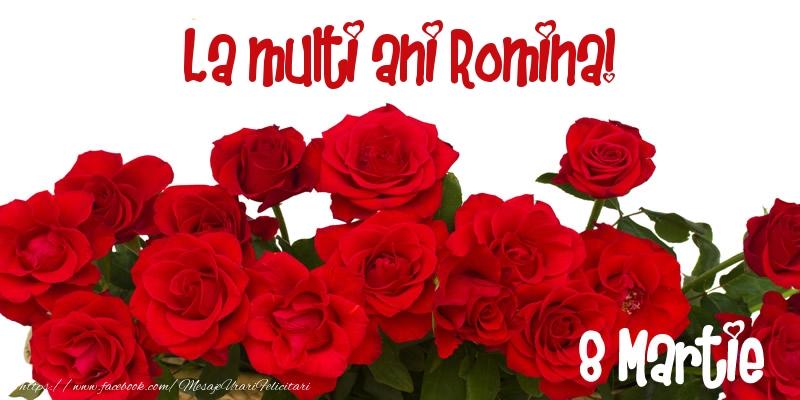 Felicitari 8 Martie Ziua Femeii | La multi ani Romina! 8 Martie