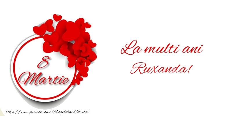 Felicitari 8 Martie Ziua Femeii | 8 Martie La multi ani Ruxanda!