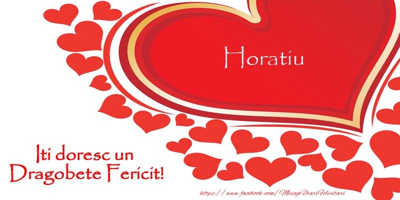 Felicitari de Dragobete | Horatiu iti doresc un Dragobete Fericit!