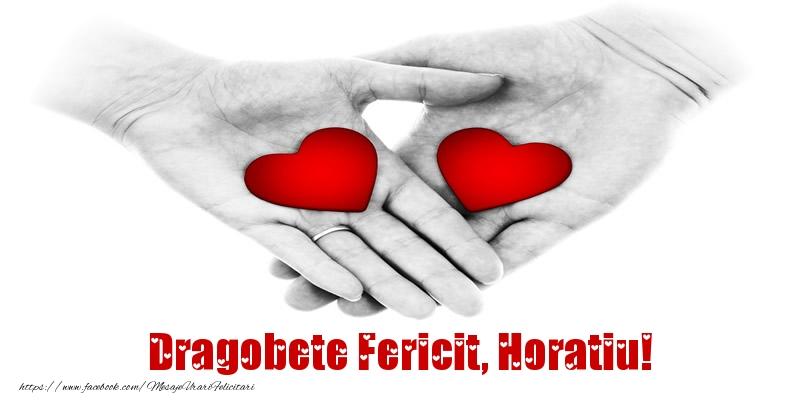 Felicitari de Dragobete | Dragobete Fericit, Horatiu!
