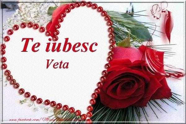 Felicitari de Dragobete   Te iubesc  Veta