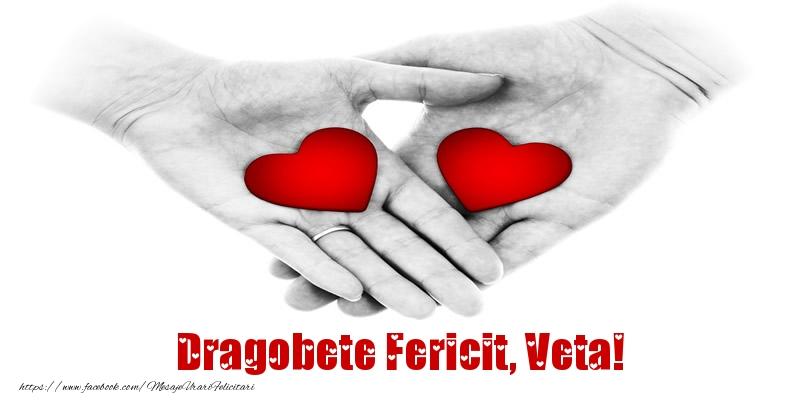 Felicitari de Dragobete   Dragobete Fericit, Veta!