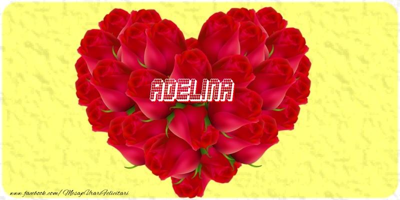 Felicitari de dragoste | Adelina
