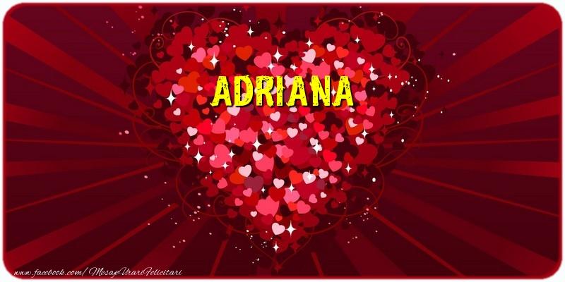 Felicitari de dragoste   Adriana