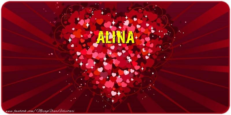 Felicitari de dragoste | Alina