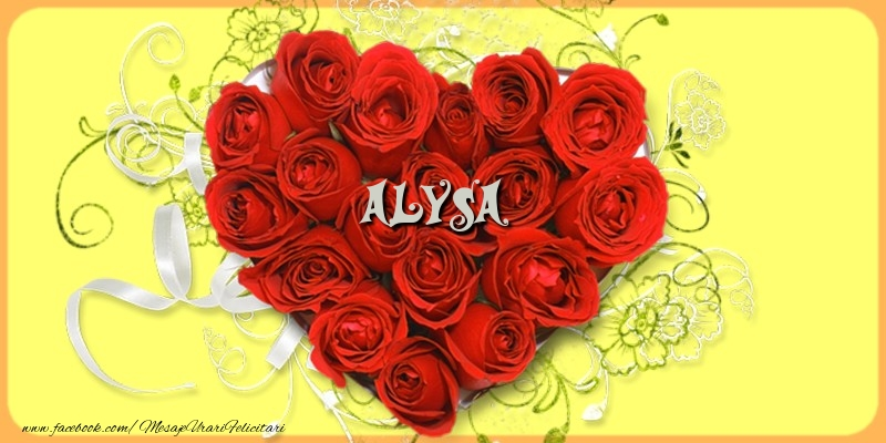 Felicitari de dragoste | Alysa