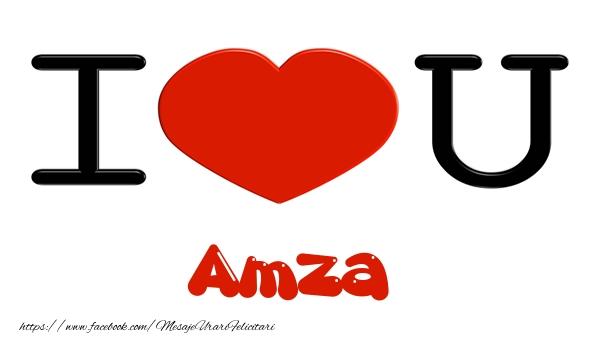 Felicitari de dragoste | I love you Amza