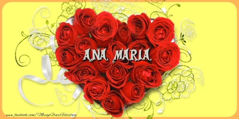 Felicitari de dragoste | Ana Maria