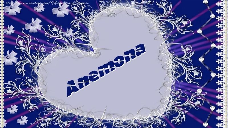 Felicitari de dragoste   Anemona