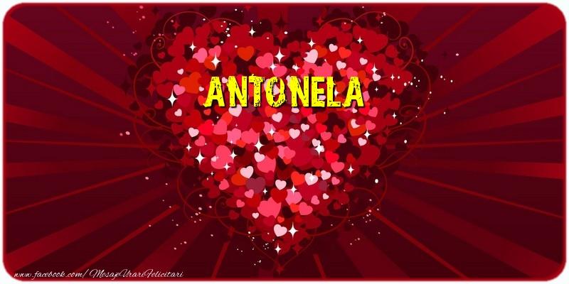 Felicitari de dragoste | Antonela