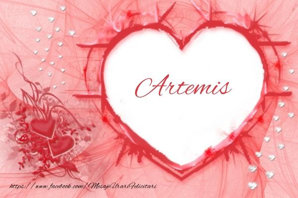 Felicitari de dragoste | Love Artemis
