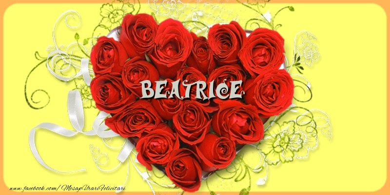 Felicitari de dragoste   Beatrice