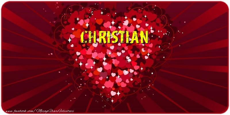 Felicitari de dragoste | Christian