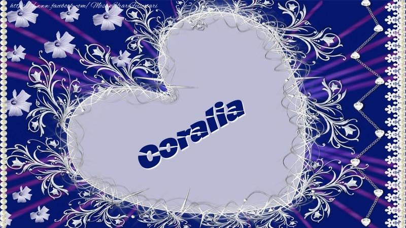 Felicitari de dragoste   Coralia