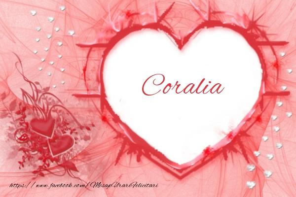 Felicitari de dragoste   Love Coralia