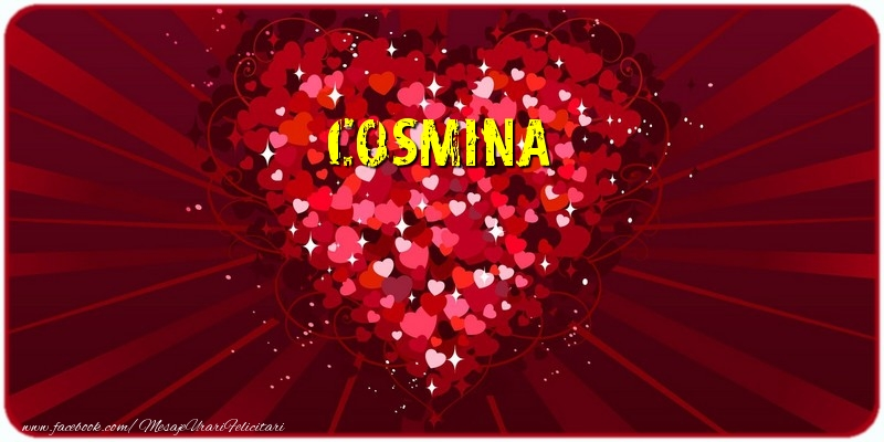 Felicitari de dragoste | Cosmina