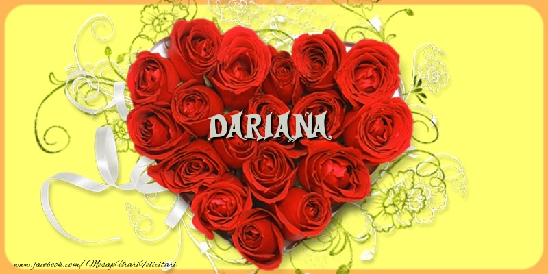 Felicitari de dragoste   Dariana