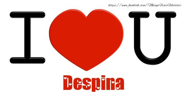 Felicitari de dragoste | I Love You Despina