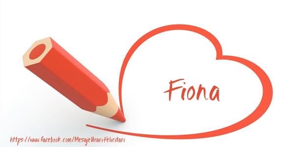 Felicitari de dragoste | Te iubesc Fiona