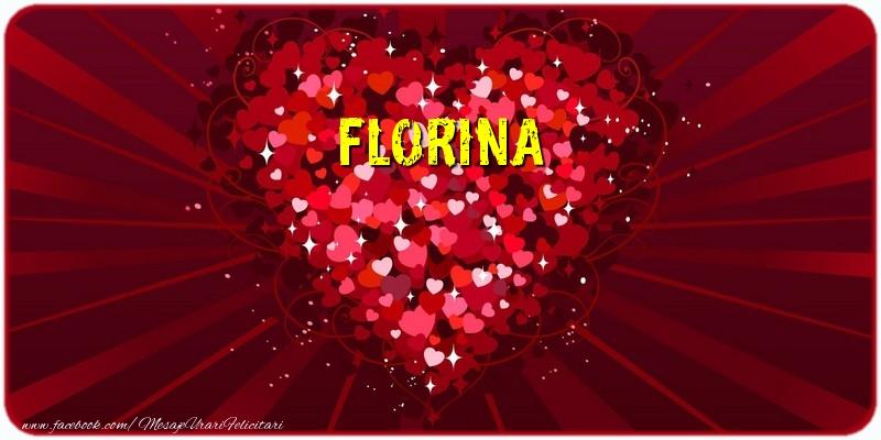 Felicitari de dragoste | Florina
