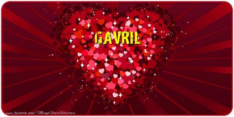 Felicitari de dragoste | Gavril