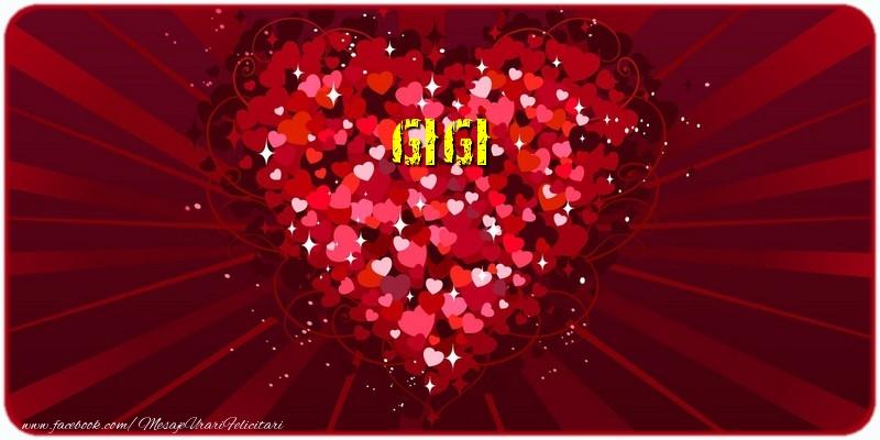 Felicitari de dragoste   Gigi