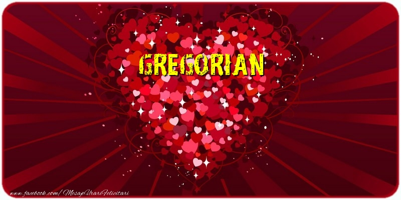 Felicitari de dragoste   Gregorian