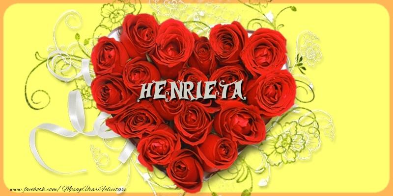 Felicitari de dragoste | Henrieta