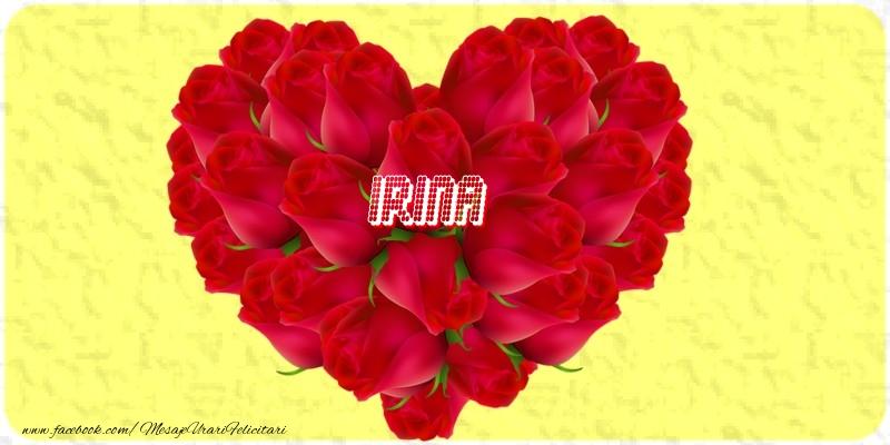Felicitari de dragoste | Irina