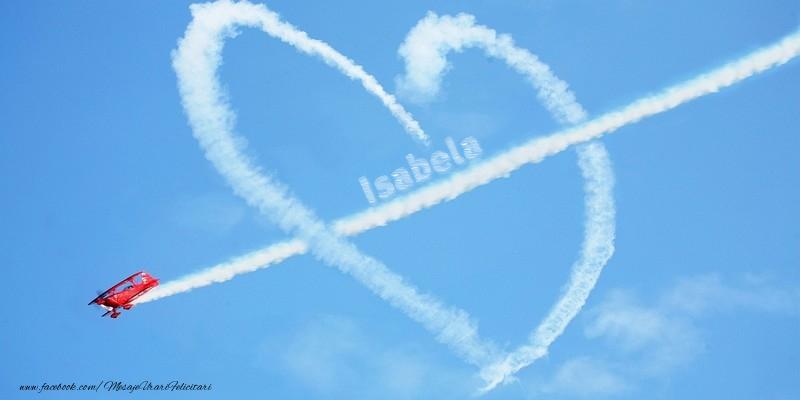 Felicitari de dragoste | Isabela