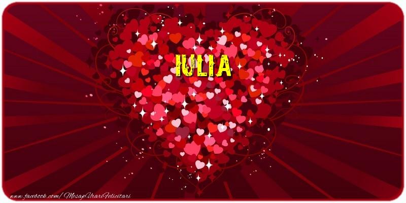 Felicitari de dragoste | Iulia