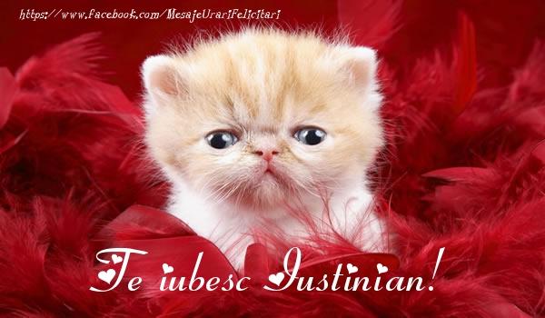 Felicitari de dragoste | Te iubesc Iustinian!