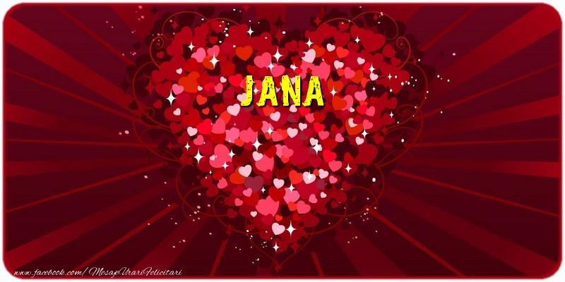 Felicitari de dragoste | Jana
