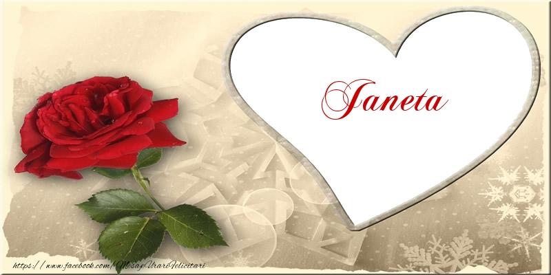 Felicitari de dragoste | Love Janeta