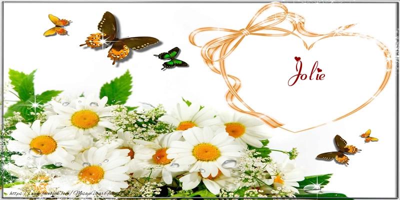 Felicitari de dragoste | I love you Jolie!