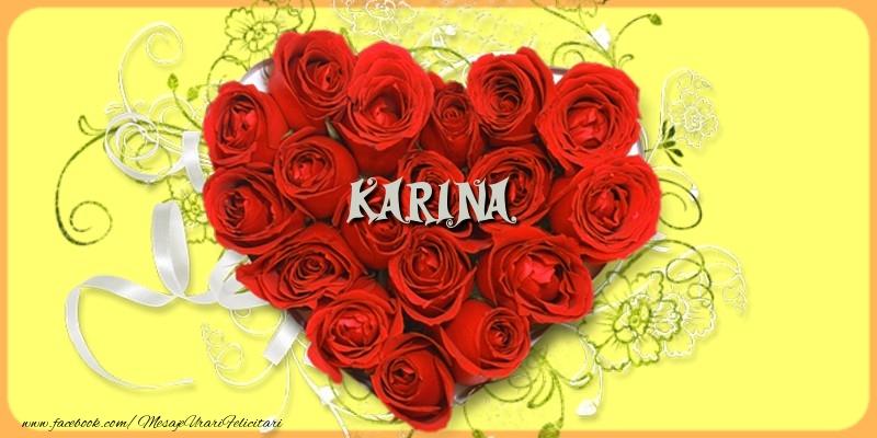 Felicitari de dragoste | Karina