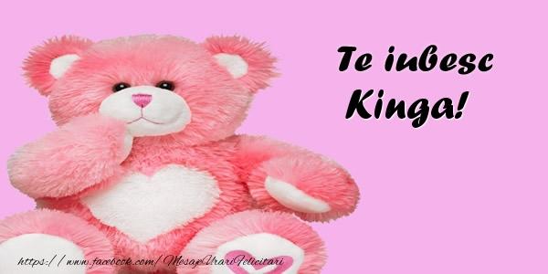 Felicitari de dragoste | Te iubesc Kinga!