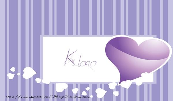 Felicitari de dragoste | Love Klara