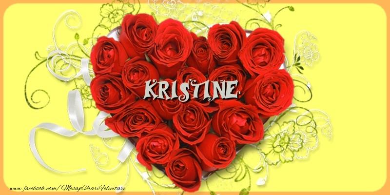 Felicitari de dragoste   Kristine