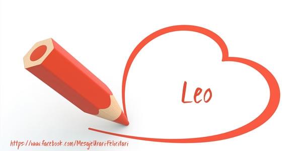 Felicitari de dragoste | Te iubesc Leo