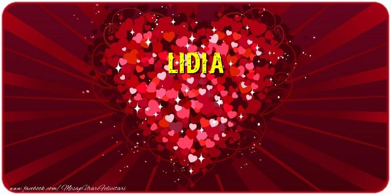 Felicitari de dragoste | Lidia
