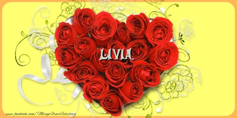 Felicitari de dragoste   Livia