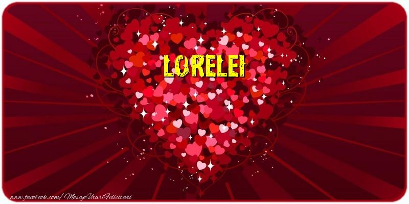 Felicitari de dragoste | Lorelei