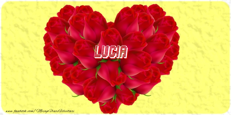 Felicitari de dragoste | Lucia